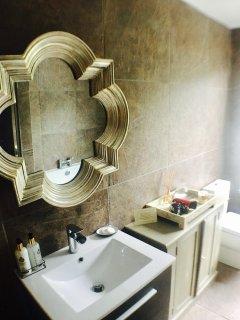 The Pear Tree Pensione loft spa bathroom