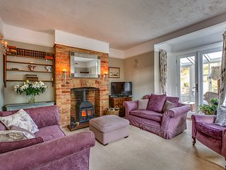 The cosy Sitting Room with log burner