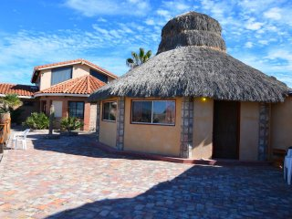 Short walk to pool and private beach, House Palapa