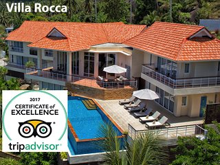 Luxury Seaview Fully Serviced 5 Bedroom Villa with Infinity Pool & Massage Room