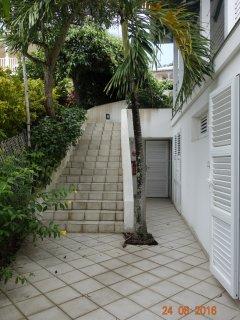 Escalier d'accès à l'appartement T3