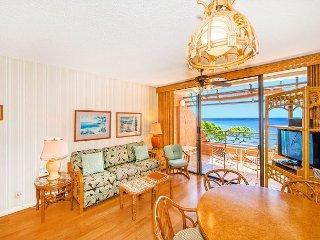 Ocean Front in West Maui, Quiet Condo Resort, Great Views & Value—1BR/1BA