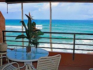 Upgraded, Top-Floor Ocean Front Unit in Quiet Condo Resort—West Maui—1/BR/1BA