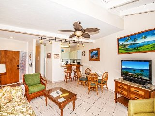 West Maui Ocean View Deluxe Condo in Quiet Ocean Front Resort—1BR/1BA