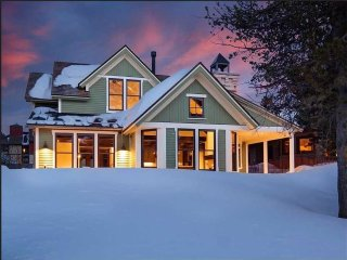 Find Yourself Relaxing in Mountain Luxury Just Steps from Downtown Breckenridge