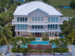 SUMMER SPECIAL—7 BR Waterfront Estate—Mayfair Estate by Luxury Cayman Villas