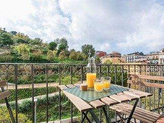 Stunning 2 bedroom flat overlooking Montjuic
