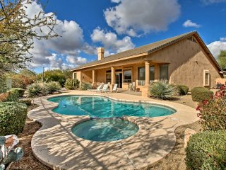 Elegant 4BR Scottsdale Home w/Pool & Mtn Views