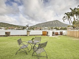Waterfront Honolulu House w/ Yard, Patio & Views!