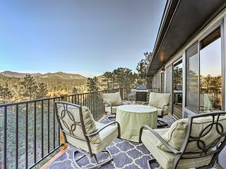 Private Evergreen Home w/Firepit & Views near Lake