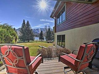 NEW! Lakefront 3BR Avon Condo w/ Ski Mtn Views!