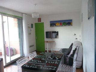 Apartment with 2 bedrooms in Sete, with enclosed garden - 400 m from the beach