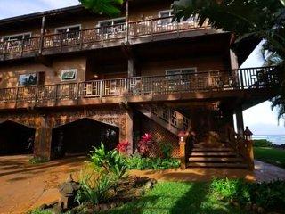 Kahana Nui:Luxurious fusion of Hawaiian and Balinese style: AC, pool, 12 guests!