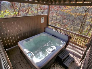 Private Gazebo Hot Tub