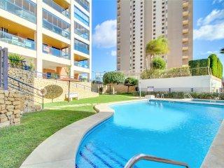 Apartamento Sabater, Piscina, Balcon y Vistas al Mar