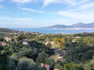 Haut de Villa La Viva Porticcio magnifique vue sur mer