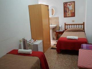 Habitación 207 Pensión Alcalá