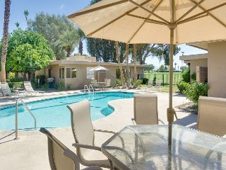 Gated Mid-Century Modern 1BR on Bermuda Dunes Golf Course w/ Pool & Hot Tub