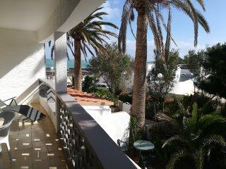 Apartamento en la playa, con terraza orientada al mar,magnificas vistas