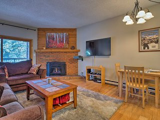 NEW! 2BR Breckenridge Condo - 200 Yards to Lifts!