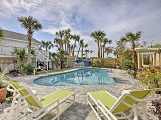 Updated St Augustine Home w/Pool - Steps to Beach!