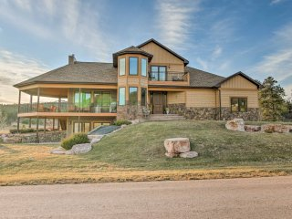 Expansive Black Hills Forest Home w/Deck & Grill!