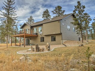 NEW! 5BR House w/ Decks & Fire Pit in Black Hills!