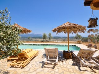 4 bedroom Villa in Liapades, Ionian Islands, Greece : ref 5048852
