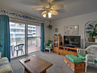 NEW! Central 1BR Ocean City Condo - Walk to Beach!