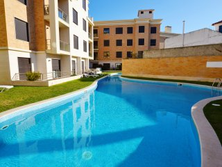 PR PR - S. Martinho do Porto - Modern 2 bedroom apartment 150 meters from the be