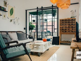 Creative 2 bedrooms in SOHO apartment in Saigon