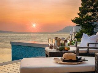 Luxury Villa Brela Pride with pool at the beach - Brela