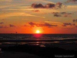 Studio 'Coucher de Soleil'  vue mer