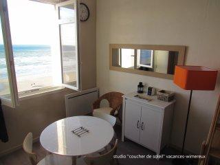 Studio 'Coucher de Soleil', vue mer, a Wimereux sur la cote d'opale