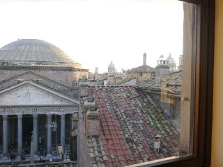 Pantheon in the Window