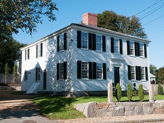 The John Gott House, built in 1806, gives the true New England experience.