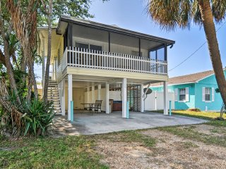 NEW! 1BR Indian Rocks Beach Home - Walk to Shore!