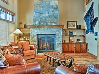NEW! 6BR Red Lodge Home w/Hot Tub & Mtn Views!