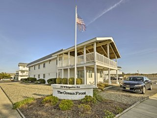 Brigantine Condo w/ Ocean View - Steps to Beach!