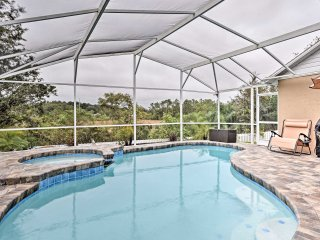NEW! 3BR House w/ Lanai, Pool ~15 Mins to Disney!