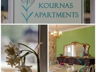 Kournas Apartments, Groundfloor Apartment Eleonas Mountain Hiking