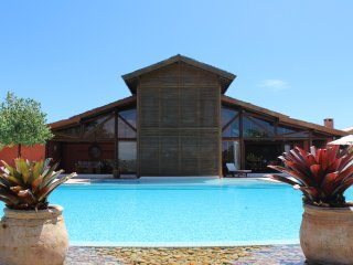 Bah001-Luxury house in Trancoso with 6 bedrooms and large pool on Golf Course