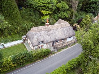 Thatched Cottage, Wherwell in the Test Valley