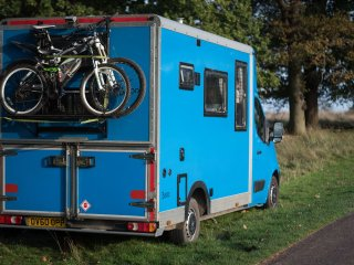 Balloo, handmade campervan hire from Quirky Campers