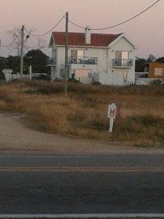 Vista de la casa desde la Ruta 10 Juan Diaz de Solis