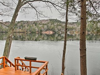 NEW! 5BR Waterfront Home on Lake Sunapee w/ Dock!