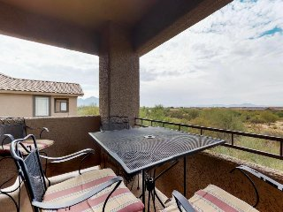 Condo w/ shared pool and hot tub, private patio with lovely views, & golf onsite