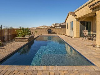 Spacious, modern home with private pool, gourmet kitchen, and more!