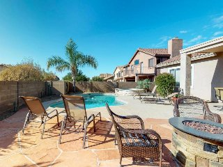 Roomy, contemporary home w/ private pool, hot tub & outdoor entertaining area!