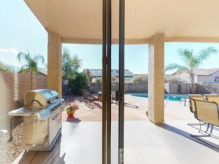 Spacious and contemporary home with a private pool & outdoor entertaining area!